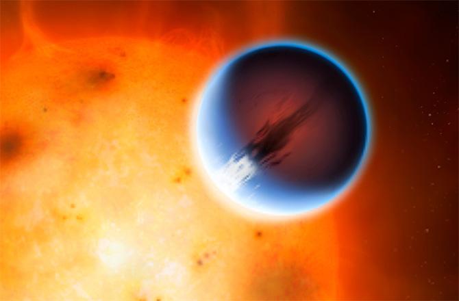 Exoplanet HD 189733b