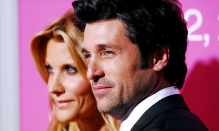 patrick dempsey and ex spotted together