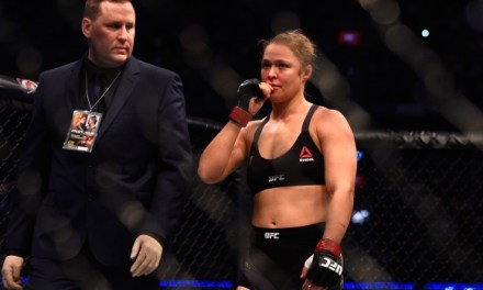 Rousey medical suspension Could last 6 Month
