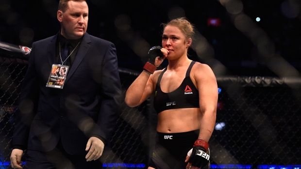 Rousey medical suspension Could last 6 Months