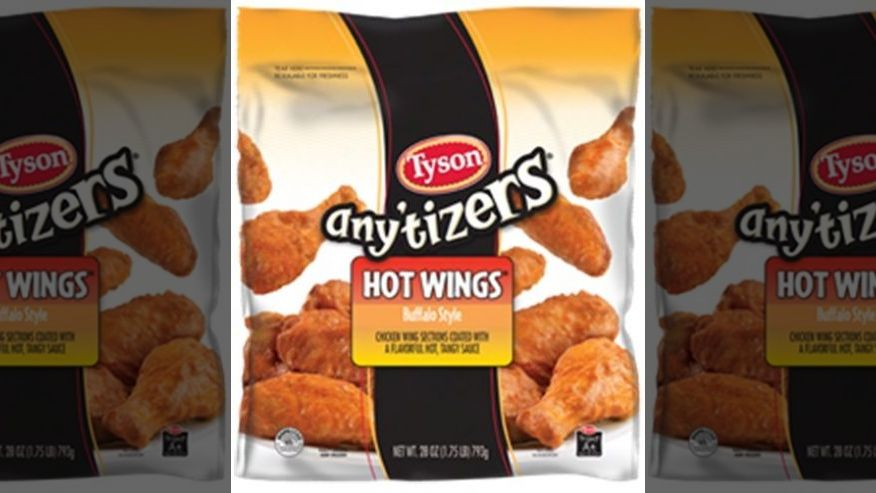 tyson recalls chicken wings Over Adulteration