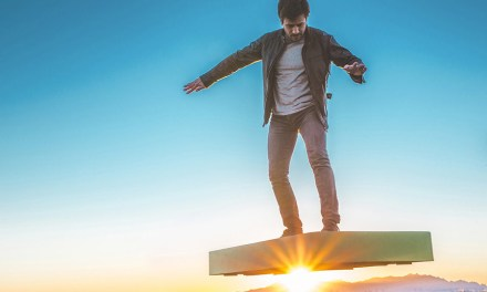 ArcaBoard:  A Hoverboard That Kinda Works