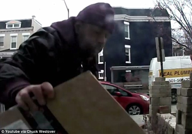 Homeowner leaves thief dog poop in a box