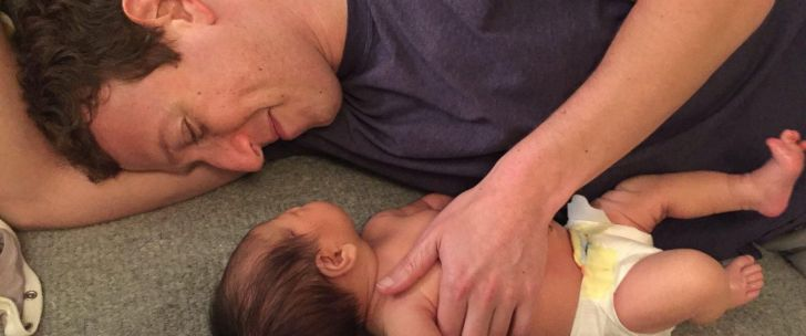 Mark Zuckerberg and daughter