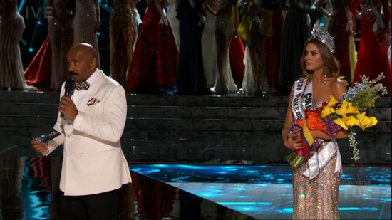 Miss Universe mistake
