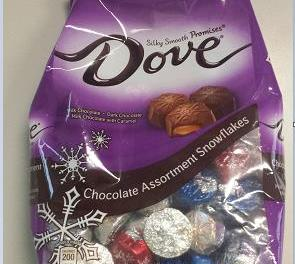 dove snickers recall: Chocolate Recalled Due to Snickers in Some Packages