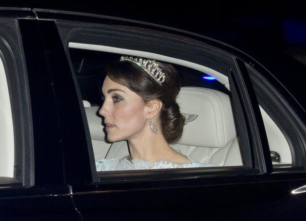 Duchess Kate Haircut: Spotted In Tiara