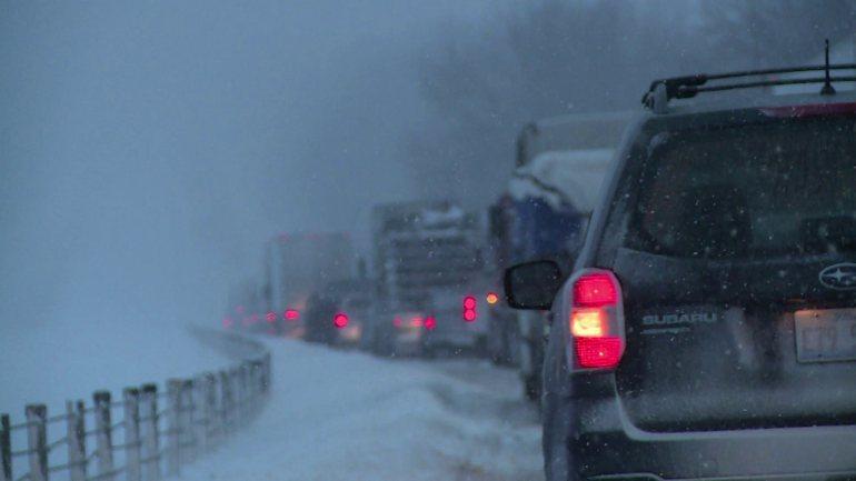 Blizzard Strikes East Coast