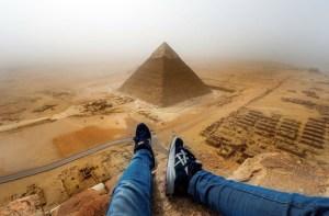 German teen Great Pyramid