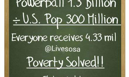 Powerball math meme:  Viral Post Sucks At Math