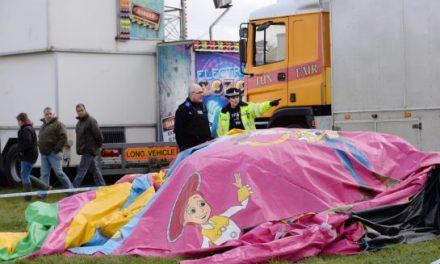 Girl dies on bouncy castle