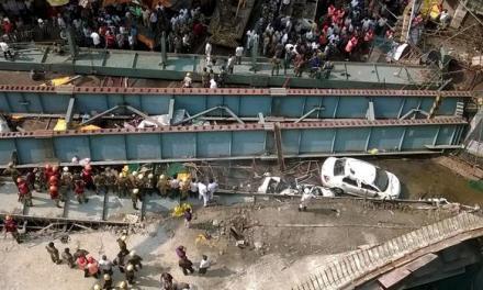 Kolkata overpass collapses Killing At least 21 UPDATE