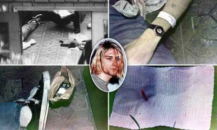 Kurt Cobain shotgun:  New photos show Kurt Cobain suicide gun