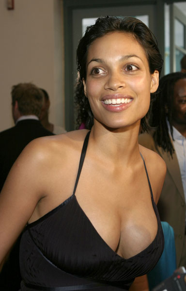 Rosario Dawson Arrested During Political Rally