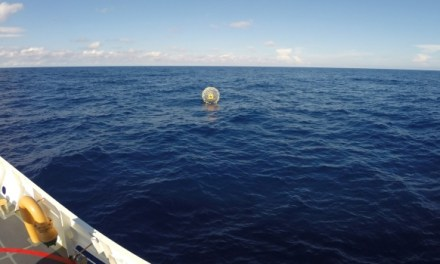bubble runner rescued at sea for second time