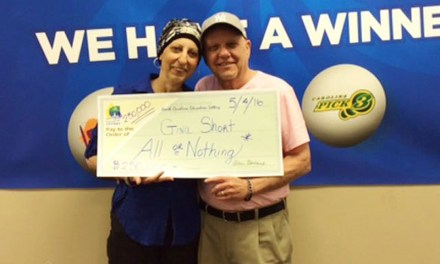 """""""We're still in disbelief"""" Woman Fighting Cancer Wins  Lottery Twice"""
