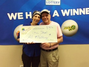Woman wins lottery twice: Woman With Cancer Wins Lottery Again
