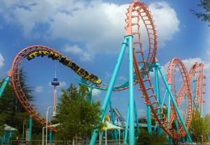 Amusement park power outage