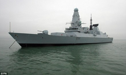 """British Warships Are """"Sitting Ducks"""" Because Sea Is Too Hot"""
