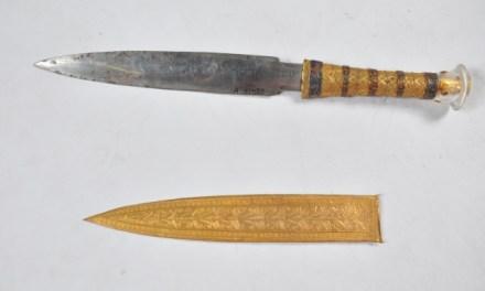 King Tutankhamun dagger: Tut's Dagger Was made from Iron From A meteorite