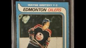Gretzky rookie card 465K