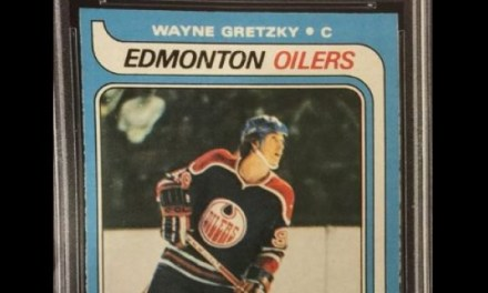 Gretzky rookie card goes for 465K