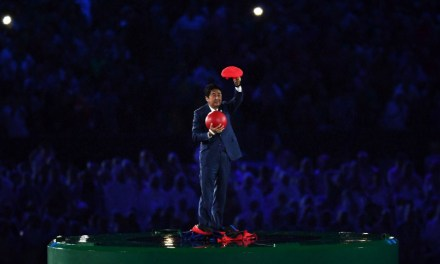 shinzo abe super mario:  Japan's PM Has Best Entrance Ever