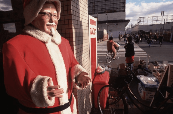 Kentucky Fried Christmas and Other Weird Christmas Traditions of the World