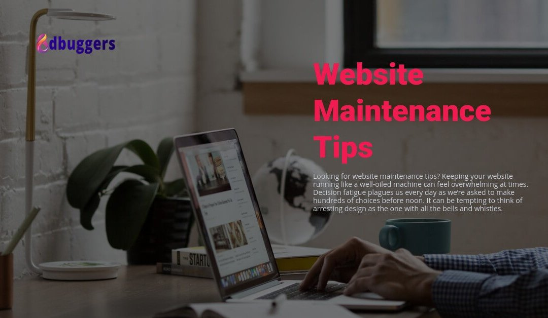 Website Maintenance Tips to Keep Your Website Healthy