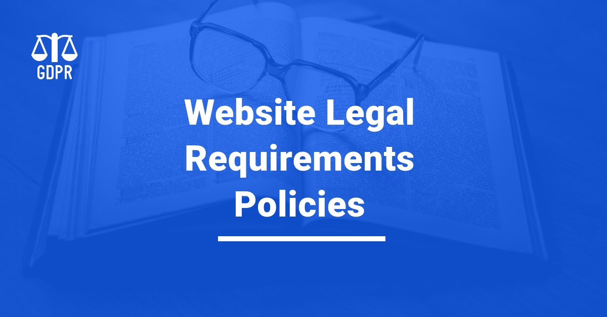 Website Legal Requirements, dbuggers