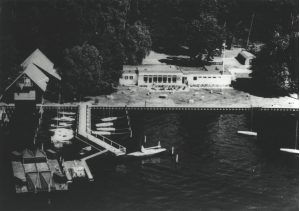 Luftaufnahme Clubhaus