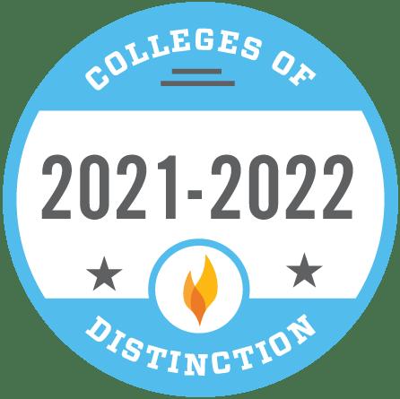 college of distinction badge