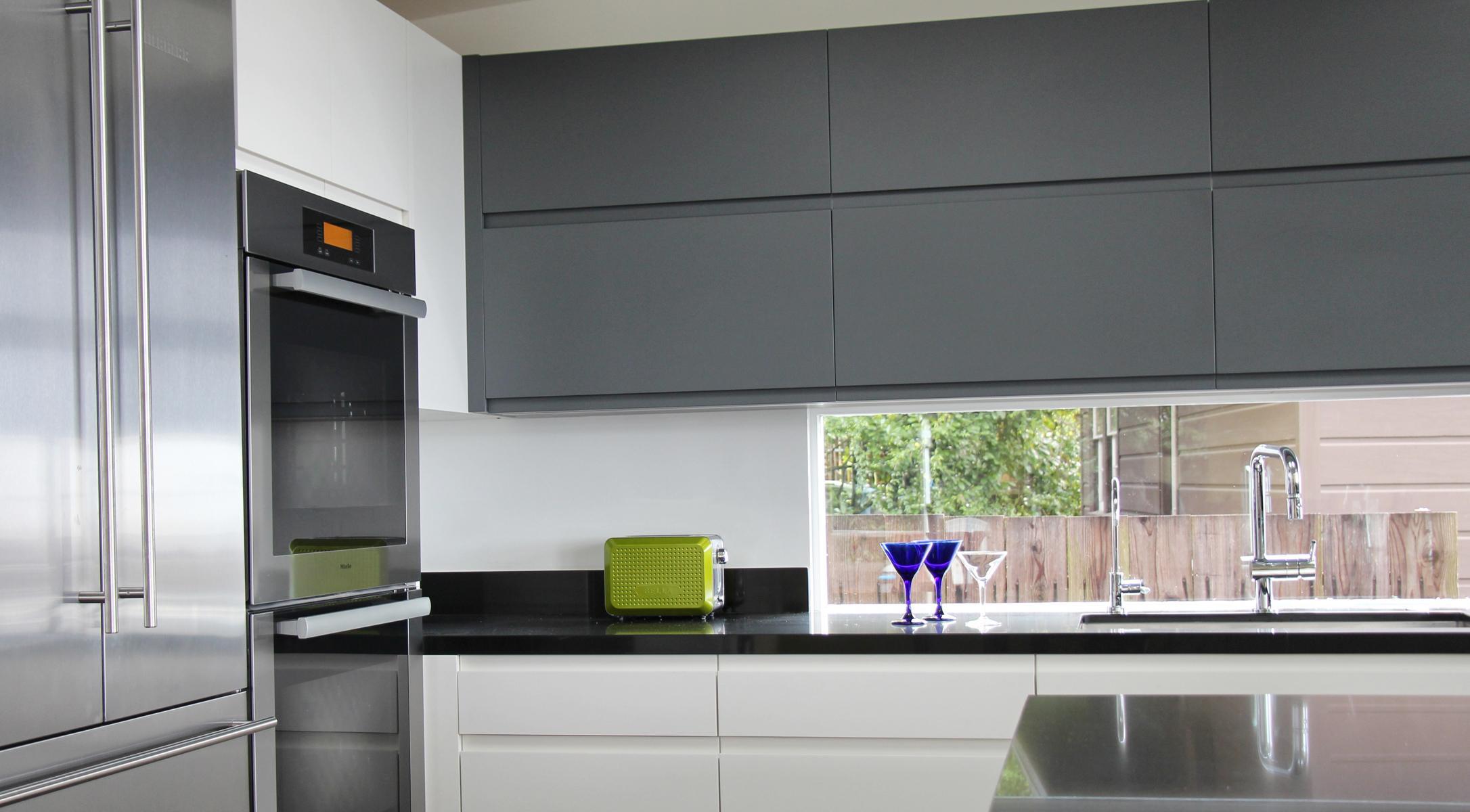 Grey And White Ikea Kitchen
