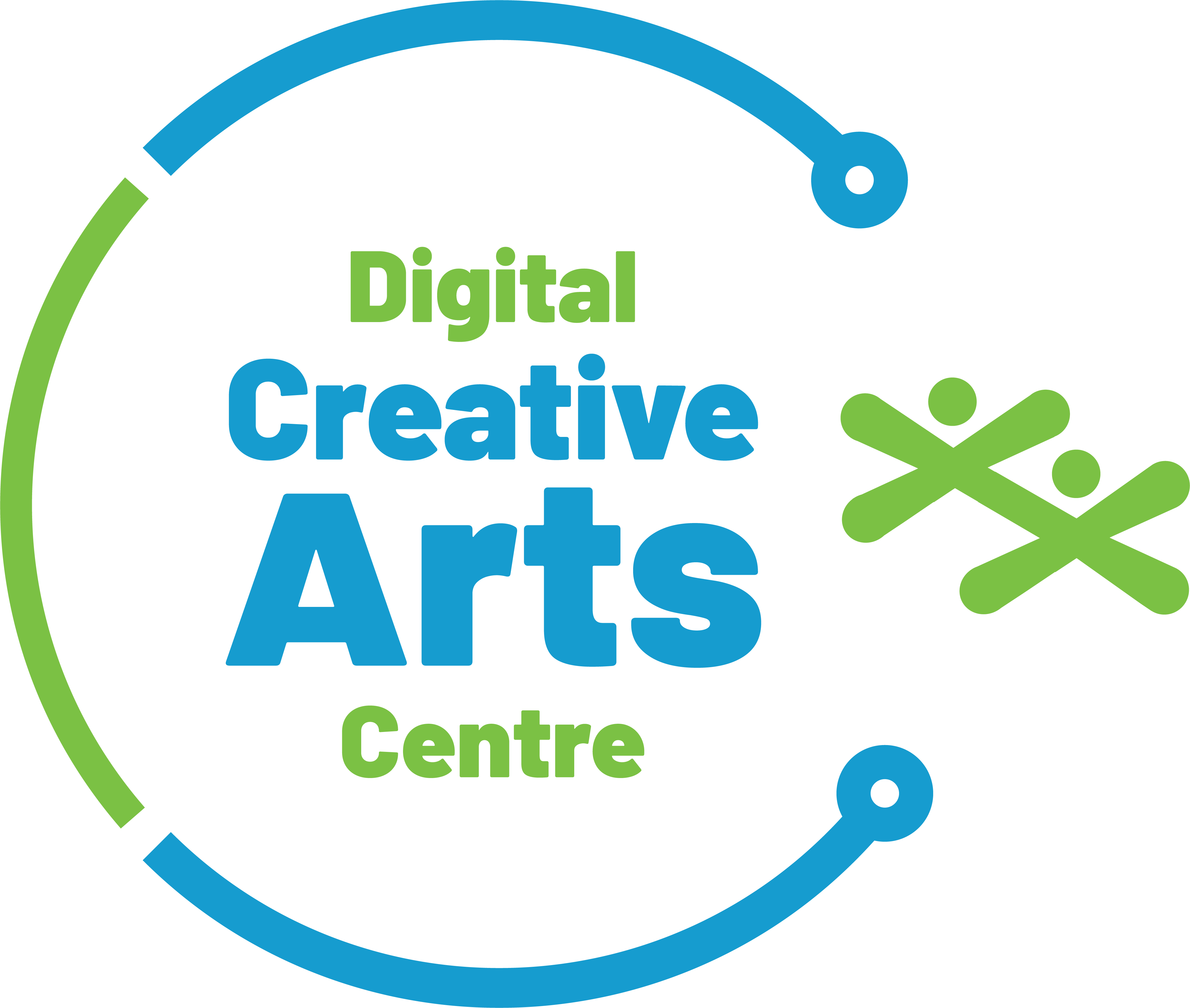 The Digital Creative Arts Centre Logo