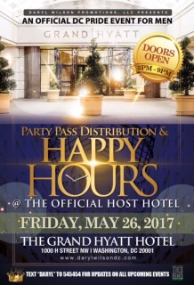 Party Pass Distribution & Happy Hour