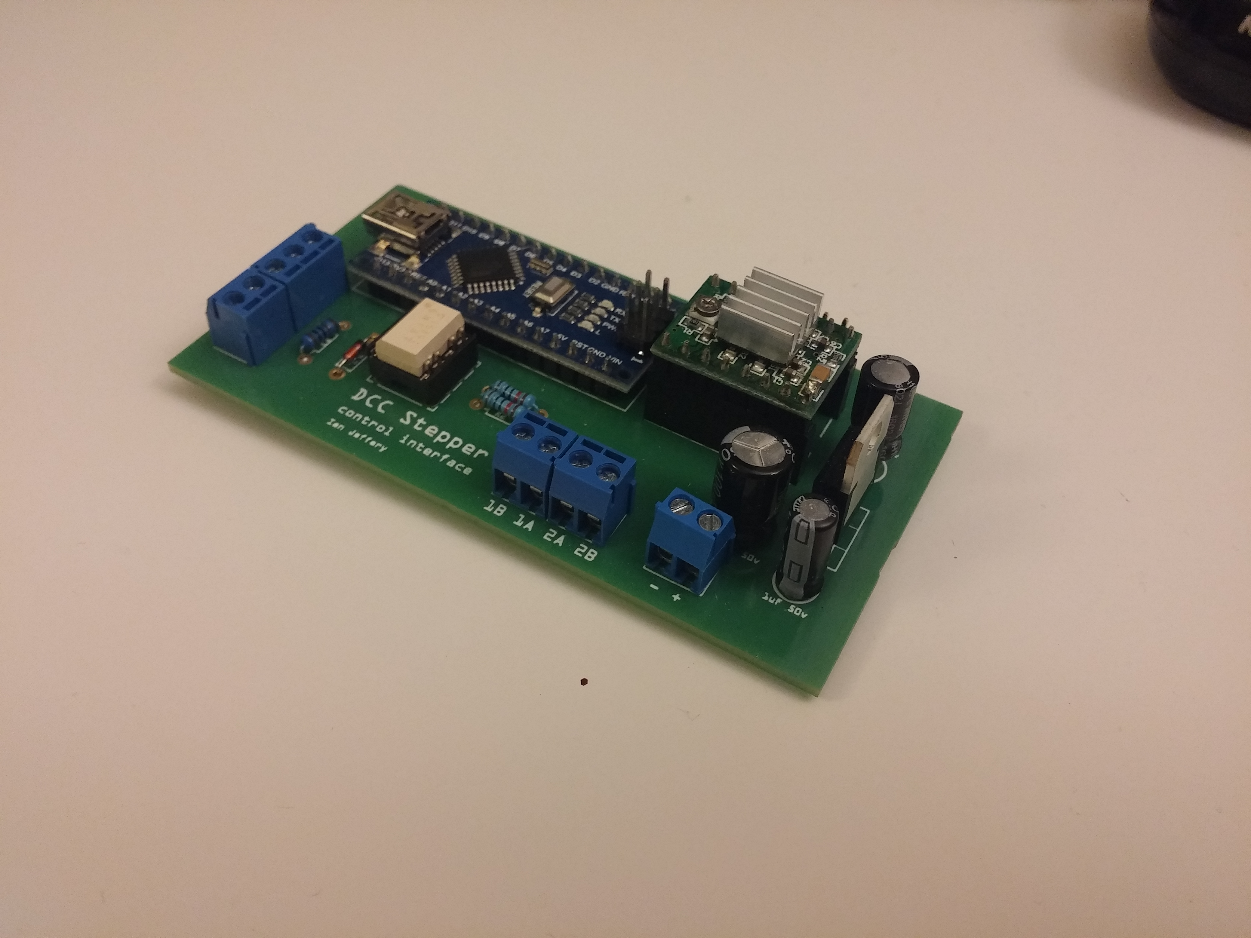 Model Railway DCC Turntable Accessory Decoder for Arduino Nano - Kit