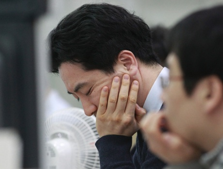 South Korea Markets respond to Nikkei