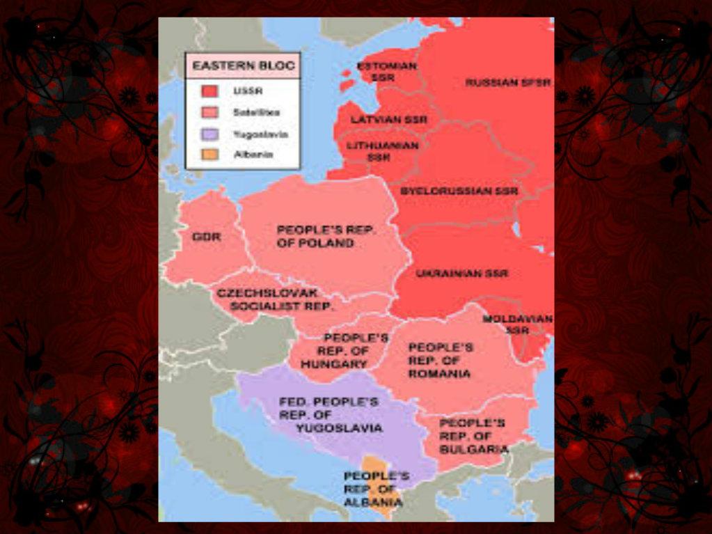 Eastern Bloc Map 2