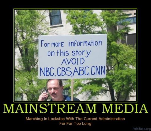 mainstream-media-mainstream-news-is-bs-political-poster