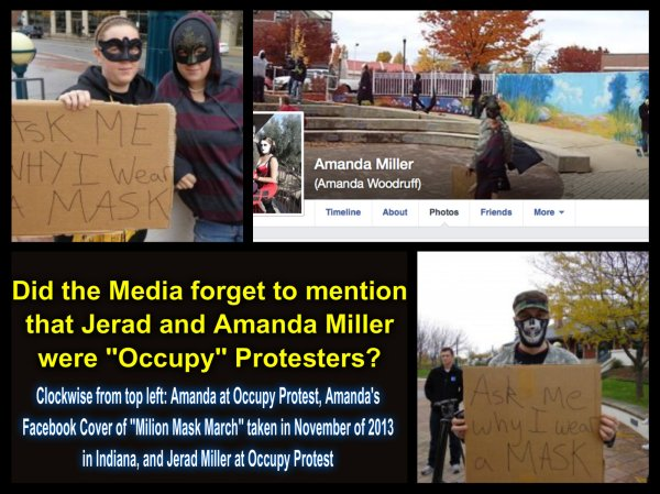 Jerad Miller Amanda Miller occupy protesters
