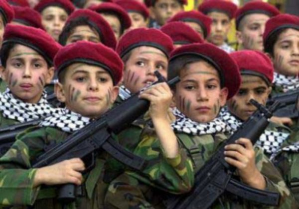 palestinian child army