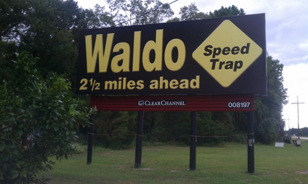 waldo speed trap