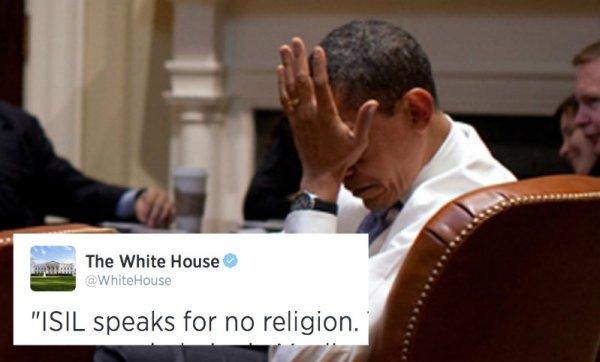 white house isis tweet