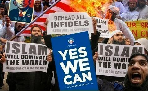 islam will dominate yes we can