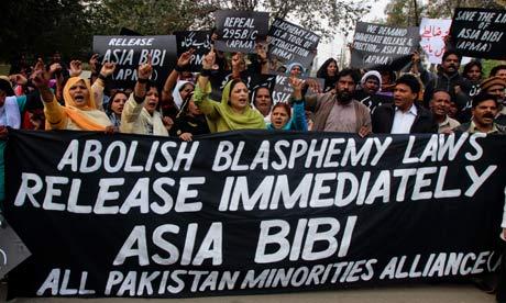asia bibi protest