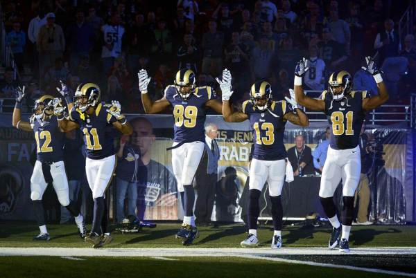 Rams hands up don't shoot