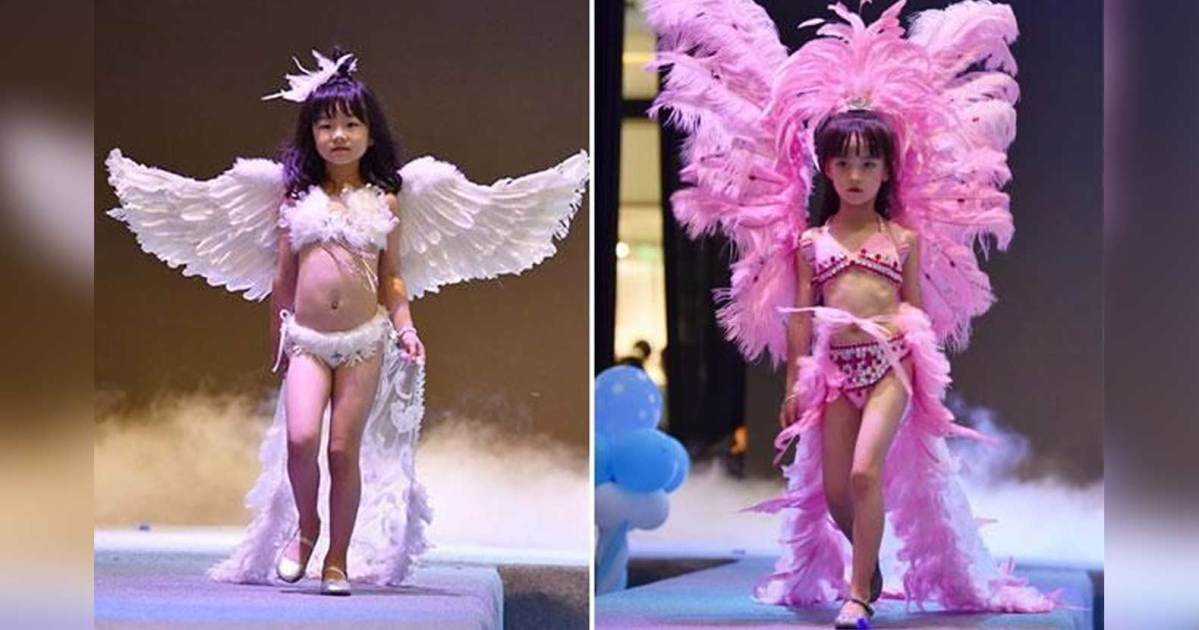 China Fashion Show Victoria Secret Children