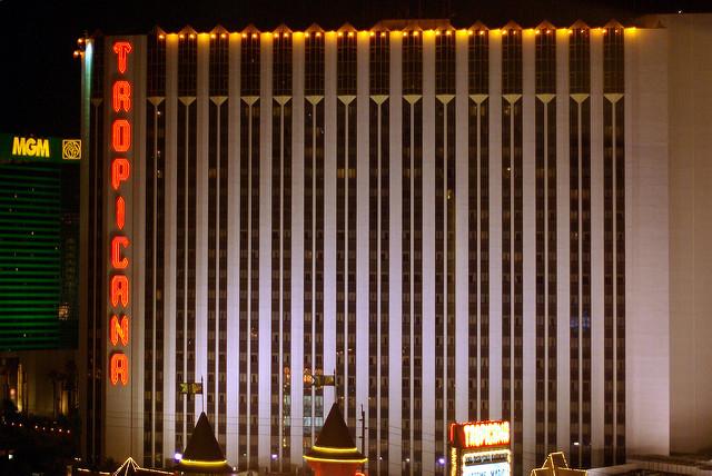 Eyewitness account of rapid gunfire, muzzle flash, people shot at Tropicana, 'blood on walls': Las Vegas shooting