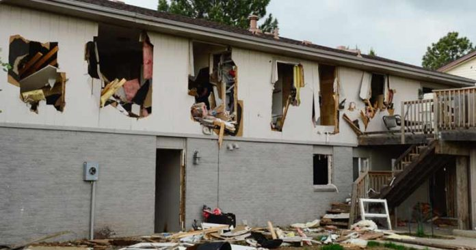 Cops Thought Innocent Man Shoplifted a Shirt, So 50 SWAT Cops Tore Down His House