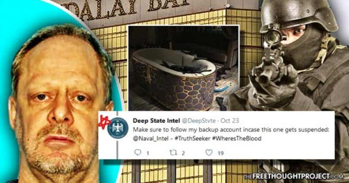 Vegas Massacre Cover-Up: PR Firm Hired by Mandalay Bay Exposed Pushing Conspiracy Theories